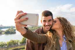couple taking picture